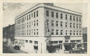 WEST POINT , Mississippi , 1943 ; Henry Clay Hotel