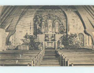 Divided-Back CHURCH SCENE Silver Bay New York NY L6124