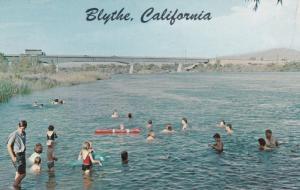 BLYTHE, California, 1940-60s; Colorado River in the heart of the fertile Polo...