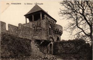 CPA FOUGERES - Le Chateau - La Chapelle (298222)