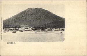 Amapala Honduras c1905 Postcard