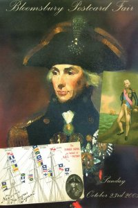 Horatio Nelson Collectors Exhibition Limited Edition Postcard