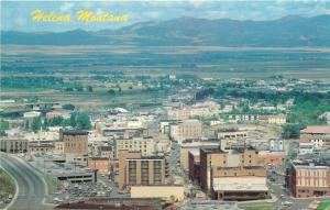 Helena MT Power Block~Downtown Skyline From The South~1950s
