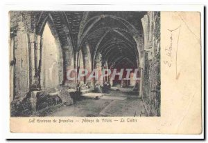 Around Belgium Brussels Old Postcard Villiers Abbey The cloister