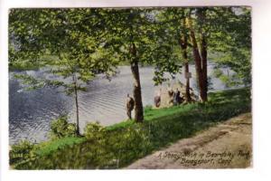 People in Beardsley Park, Bridgeport, Connecticut, Danziger and Berman