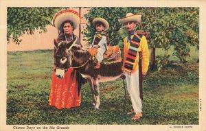 Postcard Charro Days on the Rio Grande Texas