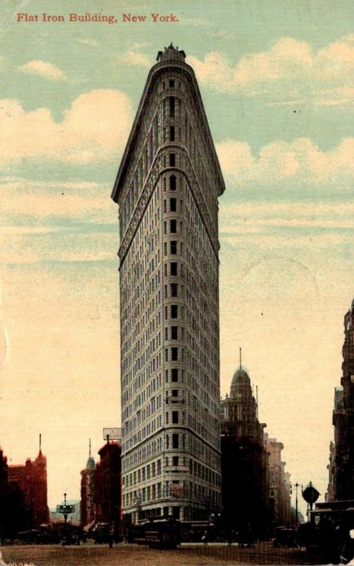 New York City Flat Iron Building 1912