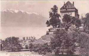 Switzerland Montreux Chateau de Chatelard