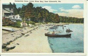 Contention Cove, Union River Bay, Near Ellsworth, Me