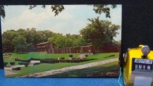 STD Vintage Reproduction Historic Log Fort Old Fort Harrod State Park Kentucky