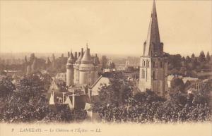 Le Chateau Et l'Eglise, LANGEAIS (Indre et Loire), France, 1900-1910s
