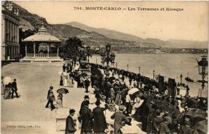CPA Monaco - Monte-Carlo - Les Terrasses et Kiosque (476981)