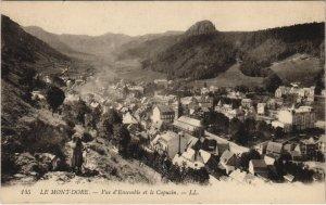 CPA Le MONT-DORE-Vue d'Ensemble et le Capucin (46453)