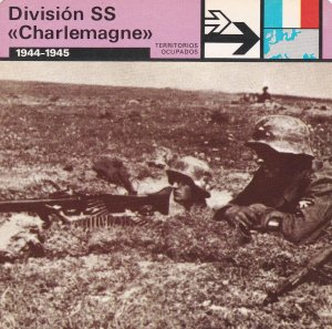 FICHA TERRITORIOS OCUPADOS: DIVISION SS CHARLEMAGNE. 1944-1945