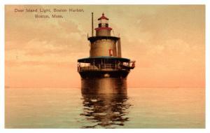 Massachusetts   Boston , Deer Island Light