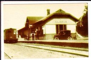 Haliburton Village Railway Train Station Art Gallery, Ontario
