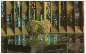 Warwickshire; Coventry Cathedral Interior, Font & Baptistery Window PPC, Unused