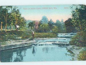 Divided-back BAIRD'S CREEK Green Bay Wisconsin WI AD5259