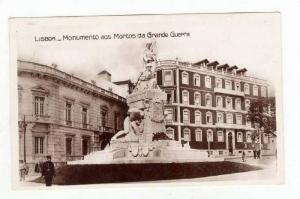 RP  Lisboa - Monumento aos Mortos da Grande Guerra, Portugal 20-40s
