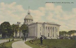 Alabama Montgomery Alabama State Capitol