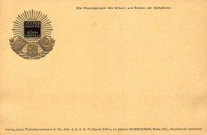 WWI Die Heeresgruppe den Witwen und Waisen Heeres Gruppe Boehm Ermolli Postcard