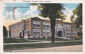 Collegiate , LONDON , Ontario , Canada , 1930