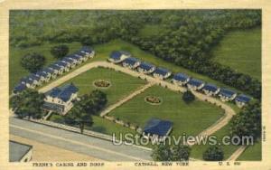 Frank's Cabins & Diner Catskill NY Unused