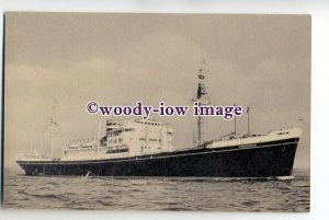 cb0596 - Holland America Cargo Ship - Dongedyk , built 1929 - postcard