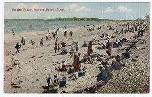 Revere Beach, Mass, On the Beach