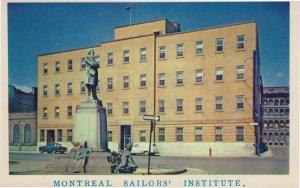 Montreal Sailors Institute Canada Postcard