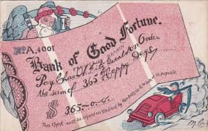 Humour Bank Of Good Fortune 1905