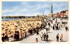 Blackpool Promenade and Central Pier Tower