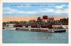 Mastodon, Mississippi River New Orleans, LA USA Ship 1948