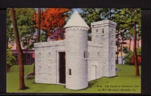 Virginia Postcard Castle Childrens Zoo Mill Mtn Roanoke