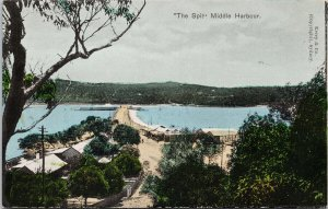 The Spit Middle Harbour Sydney Australia Picturesque Series Kerry Postcard F92