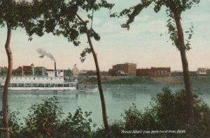 Canada Postcard - Prince Albert From North End of River, Sask  T10445