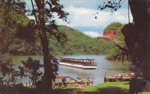 Hawaii Kauai This Beautiful View Shows Smiths Motor Boat Landing At Fern  Grotto