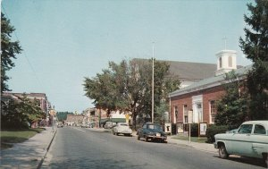 Maryland Pocomoke City Market Street Business District Showing Post Office s6849