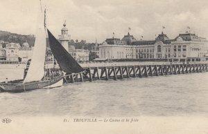 TROUVILLE, France , 00-10s ; Le Casino et la Jette