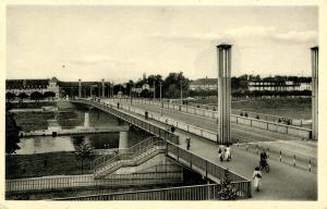 Germany - Mannheim. Friedrich-Ebert Bridge
