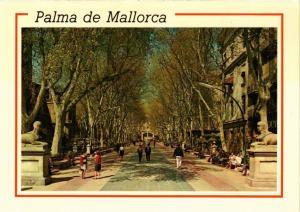 CPA Espagne-Mallorca-Palma de Mallorca-Paseo del Generalisimo (323423)