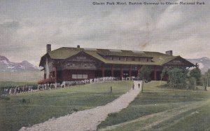 MONTANA, 1900-1910's; Glacier Park Hotel, Eastern Gateway To Glacier National...