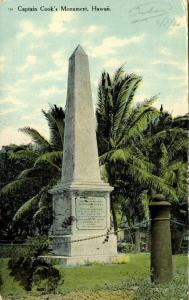 hawaii, Kealakekua Bay, Captain Cook's Monument (1910) Stamps