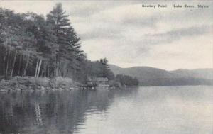 Maine Lake Kezar Barclay Point Albertype