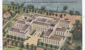 Illinois Evanston New Technological Institute Northwestern University Curteich