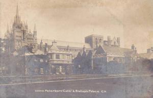 RP, Peterboro Cath! & Bishop's Palace, Peterboro, England, UK, 1920-1940s