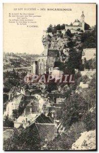Old Postcard Lot Illustrates Rocamadour