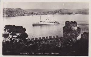 RP, Steamer, Rumeli Hisari Bosophore, Istanbul, Turkey, 1920-1940s