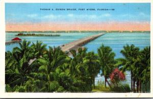 Florida Fort Myers Thomas A Edison Bridge