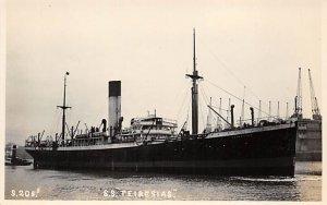 SS Teiresias Blue Funnel Line Ship Unused